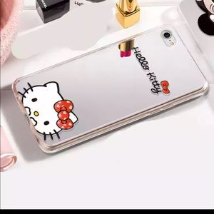 Hello kitty mirror case for iphone 8, 8plus, x